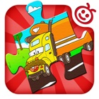 Jigsaw Puzzles (Trucks) - Kids Puzzle Truck Learning Games for Preschoolers
