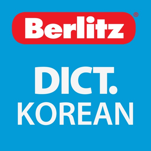 English - Korean Berlitz Basic Dictionary