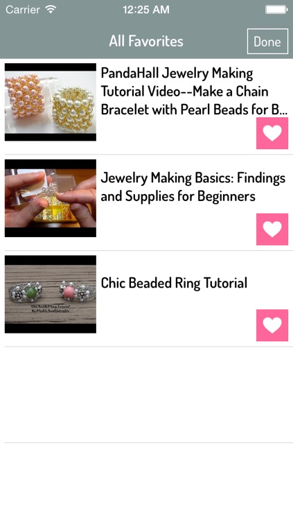 Bead Jewellery Making
