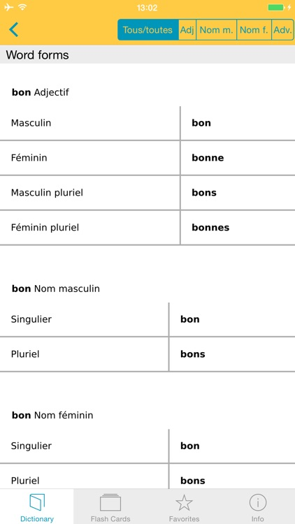 French <-> German Talking Dictionary Professional screenshot-4