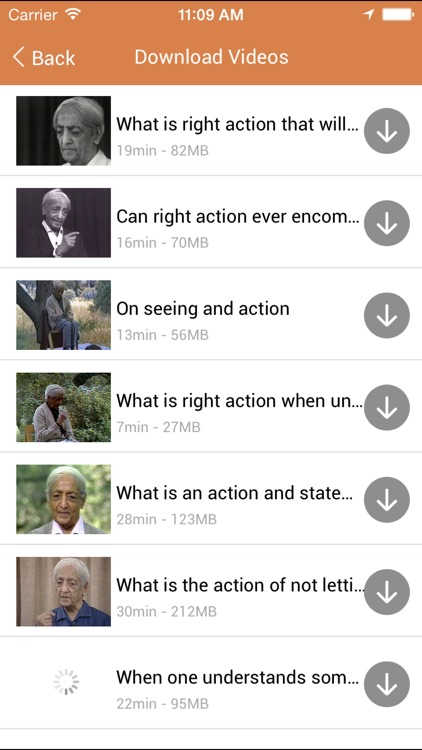 J. Krishnamurti Questions and Answers video app screenshot-3