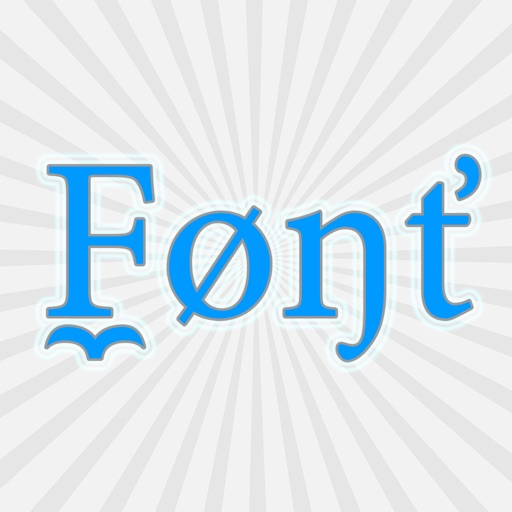 Fonts++ Keyboard