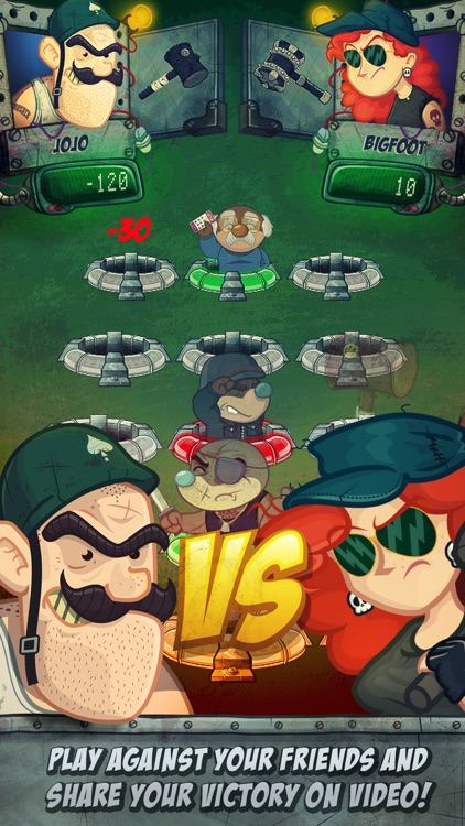Whack Wars: Smash the Moles