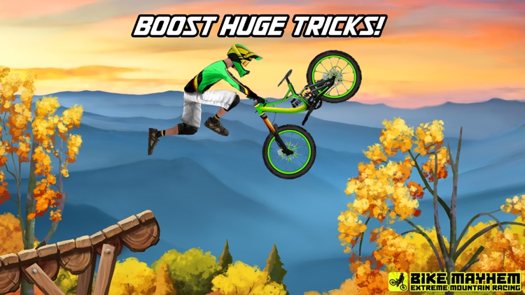 Bike Mayhem Mountain Racing screenshot-4