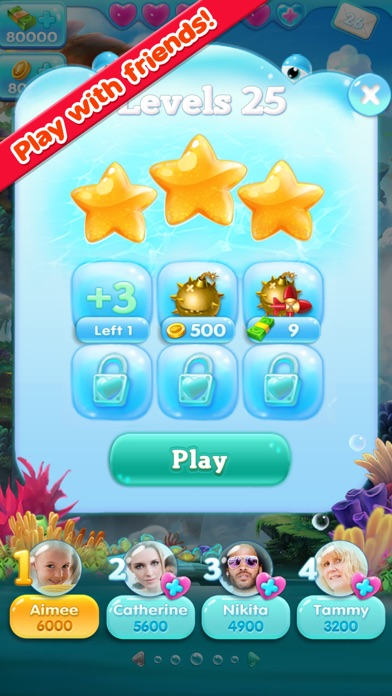 Marine Adventure -- Collect and Match 3 Fish Puzzle Game for TANGO app image