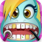 Little Pony Magic Bubble-Gum Friendship Make-Over Dentist Game