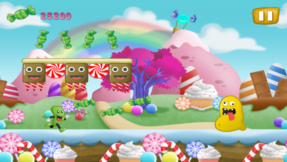 Jelly-Bean Run-ner Flop and Jump Candy Land Escapeのおすすめ画像1