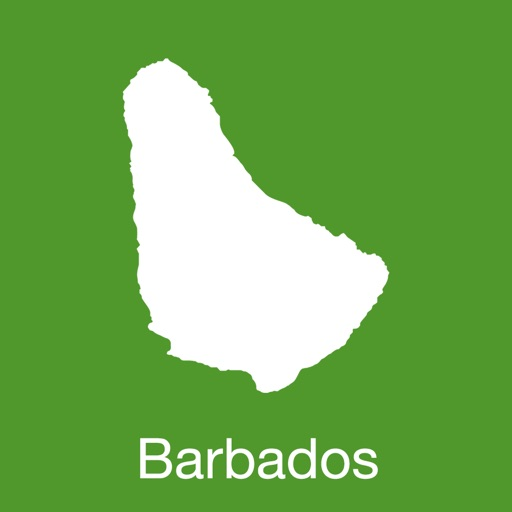 Barbados GPS Map