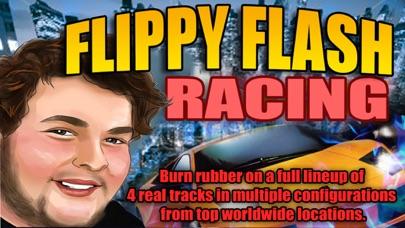 Flippy Flash Racing game screenshot two