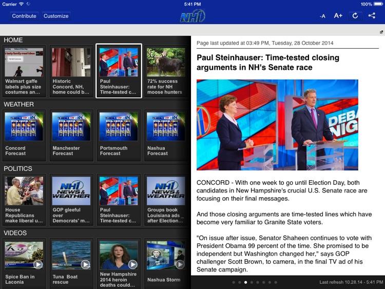 NH1 for iPad