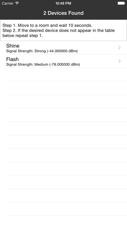 Device Finder for Misfit Shine and Flash