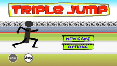 Triple Jump - Stickman Goes Athletic