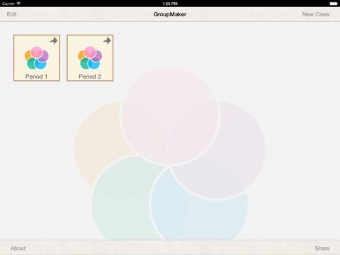 GroupMaker Screenshot 4