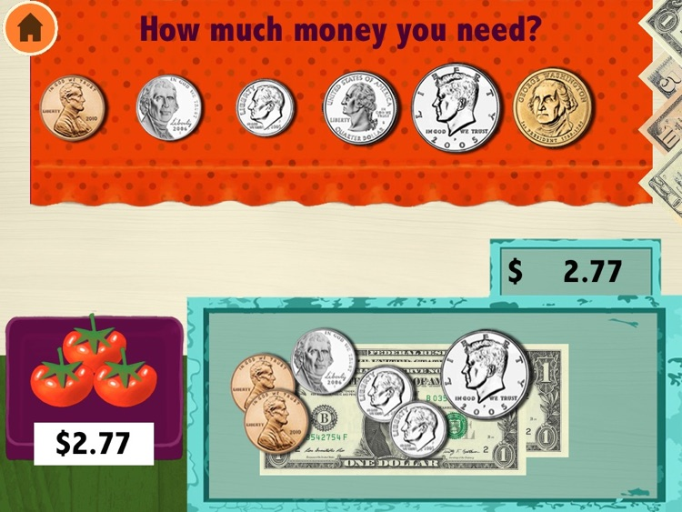 Amazing Coin Math(USD):money learning & counting game for kids