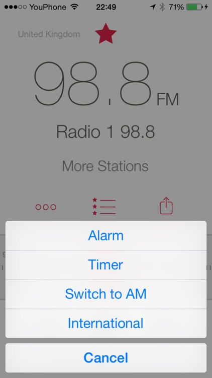 RadioApp - A simple radio for iPhone and iPod touch app image