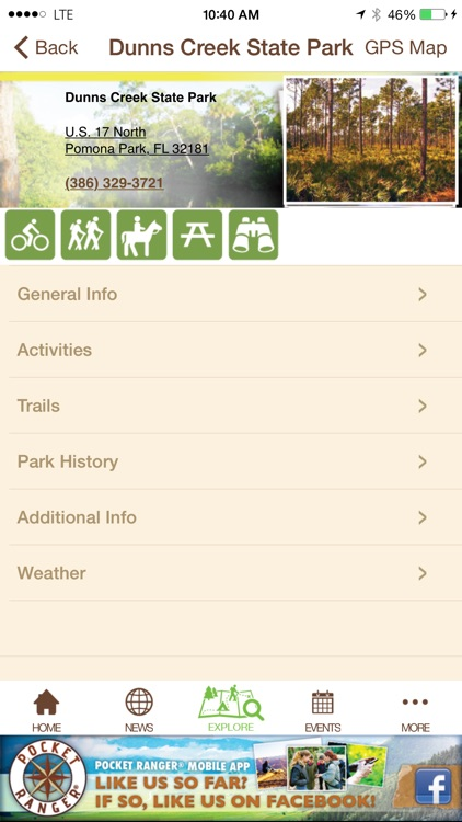 Florida State Parks Guide- Pocket Ranger® screenshot-4