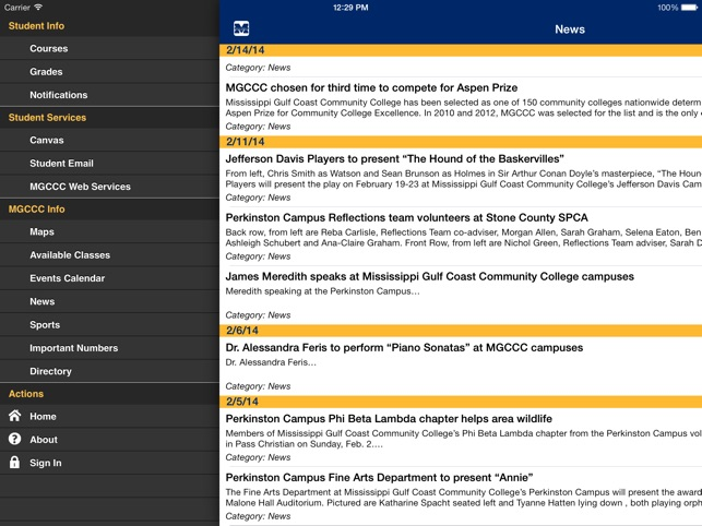 Mgccc Mobile On The App Store