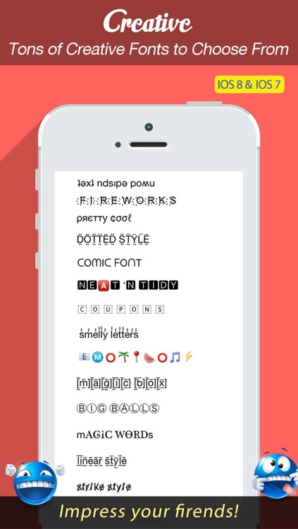 Font Keyboard Free - New Text Styles & Emoji Art Font For Texting screenshot-1