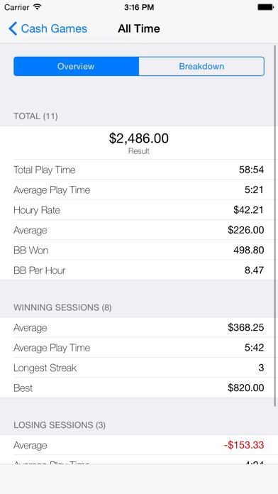 Poker Mate screenshot