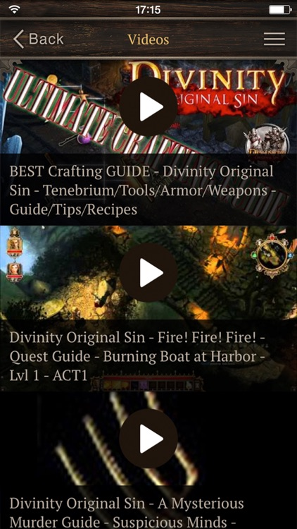 Guides for Divinity - Videos, Walkthroughs and More! screenshot-4
