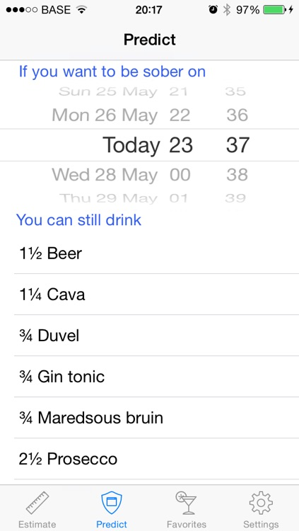 Promille - Blood Alcohol Tracker screenshot-3