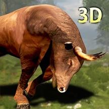 公牛模拟器 - 真3D骑牛模拟游戏