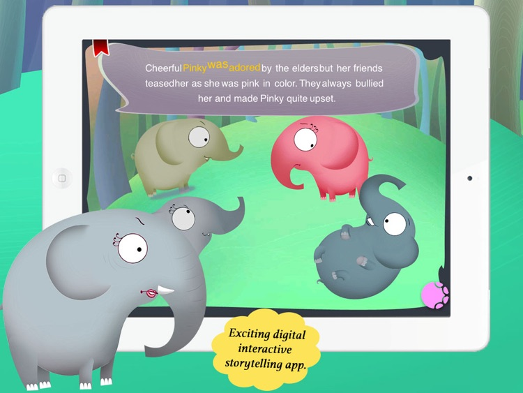 Pink Elephant for Children by Story Time for Kids