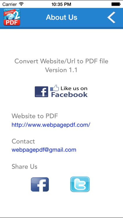 Website To PDF screenshot-4