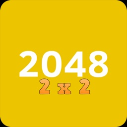2048- 2x2 - mobile logic game - join the numbers.