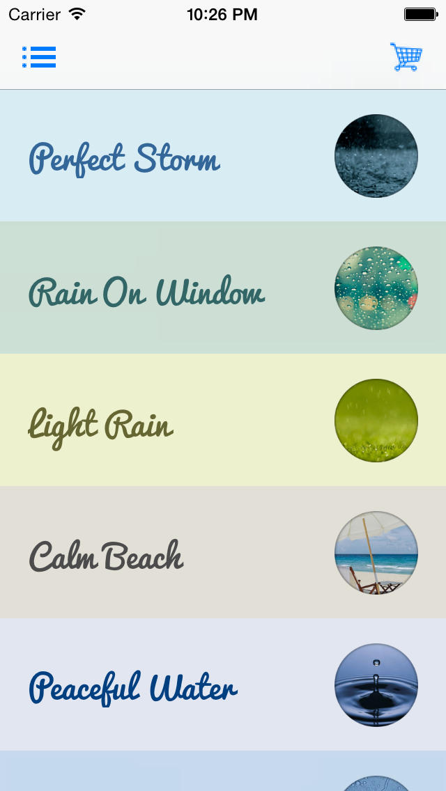 Rain Sound for Meditation and Sleep | App Price Drops
