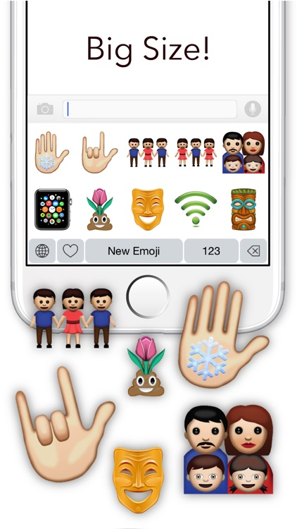 New Emoji - Extra Emojis Keyboard screenshot-3