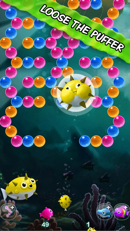 Bubble Fins - Bubble Shooter screenshot-4