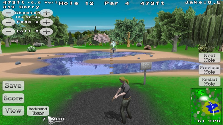 Disc Golf 3D screenshot-3