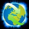 免费的快速网页浏览器 - 全屏幕IE桌面冲浪搜索网络浏览器