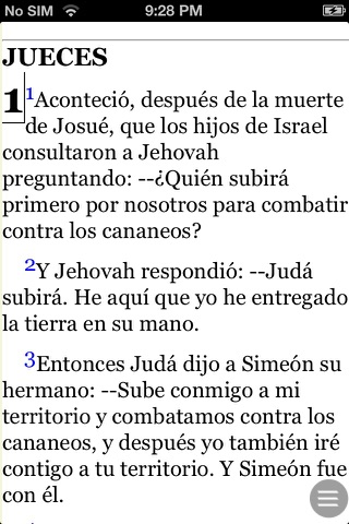 Español Santa Biblia (Spanish Modern Translation Bible) screenshot 2