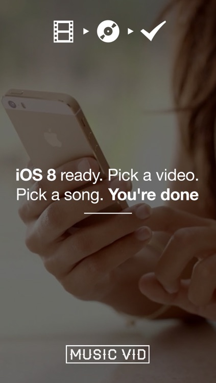 MusicVid + Play Background Music on Videos for Vine and Instagram