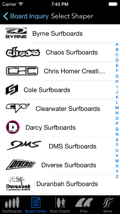 iSurfer - Surfboards Guide screenshot-4