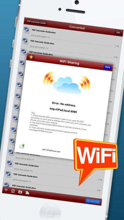 PDF Office Converter - for PDF to MS Word edition screenshot-4