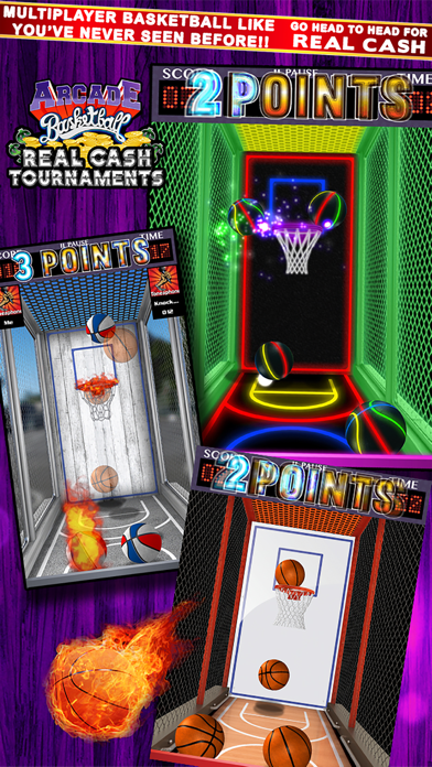 Arcade Basketball Real Cash Tournamentsのおすすめ画像1
