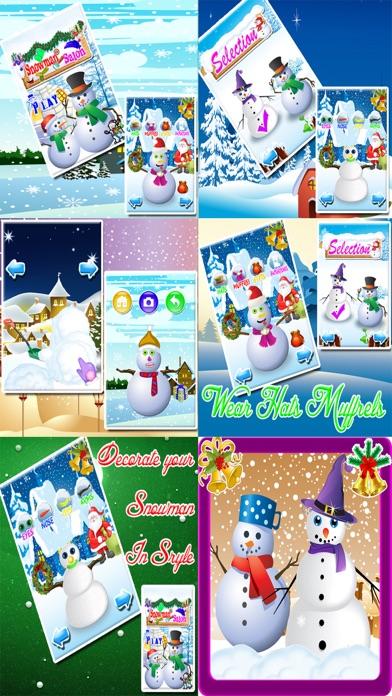 Frosty Winter Snowman Maker & Dress up Salon Free Christmas