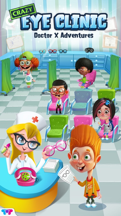 Crazy Eye Clinic - Doctor X Adventures screenshot-0