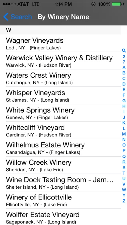 New York Winery Finder screenshot-2