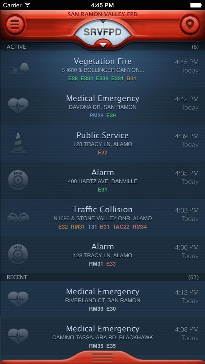 PulsePoint Screenshot