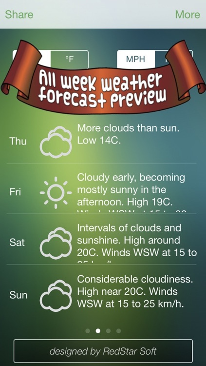 Weather Everywhere Pro - The most complete weather forecast app ! screenshot-3