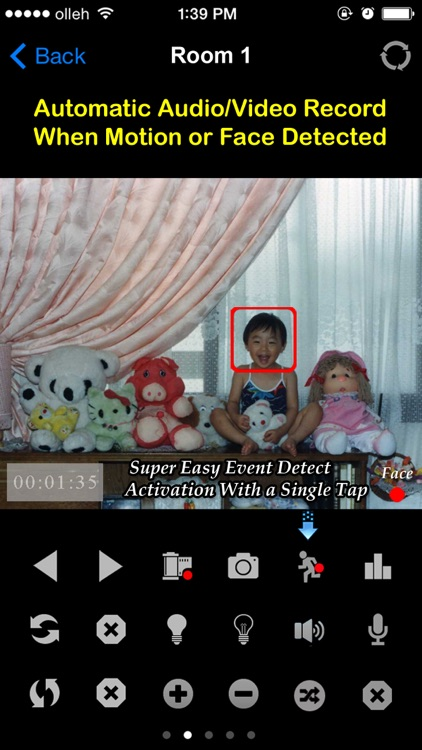 uBabyCam with AV recording screenshot-1