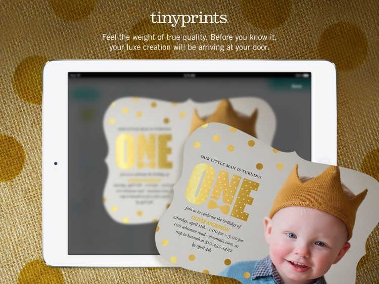 Free Photo App - Create Photo Cards & Gifts at Tiny Prints screenshot-3