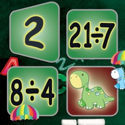 Division: Math Facts Card Matching Game