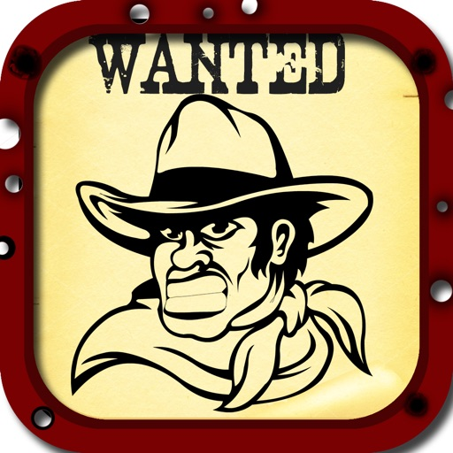 Wanted Poster Photo Booth - Take Reward Mug Shots For The Most Wanted Outlaws iOS App