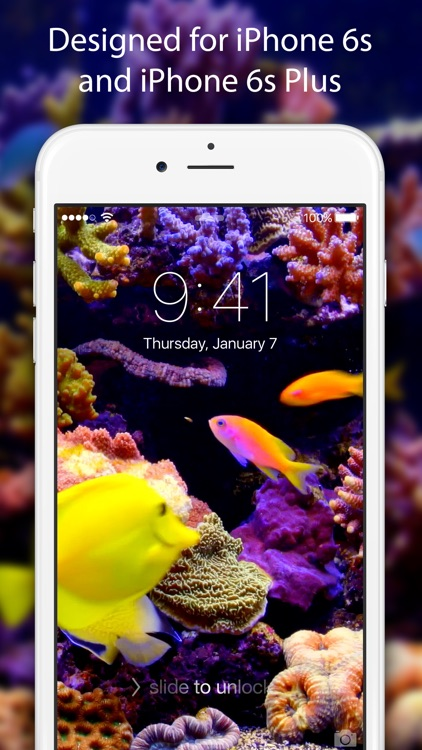Live Wallpapers & Themes - Dynamic Backgrounds and Moving Images for iPhone 6s and 6s Plus screenshot-0