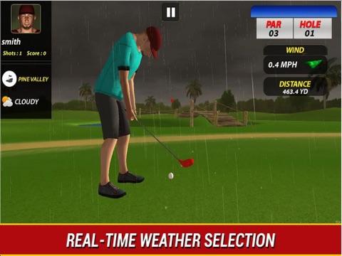 Профессиональный гольф игра про на iPad
